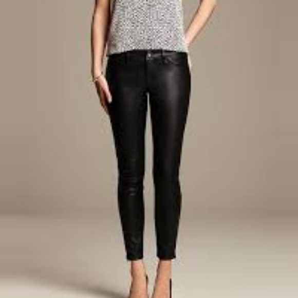 6ab4e347569829 Banana Republic Pants | Sloan Fit Faux Leather New | Poshmark